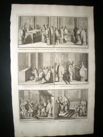 Picart C1730 Folio Antique Print. Religious Catholic 26